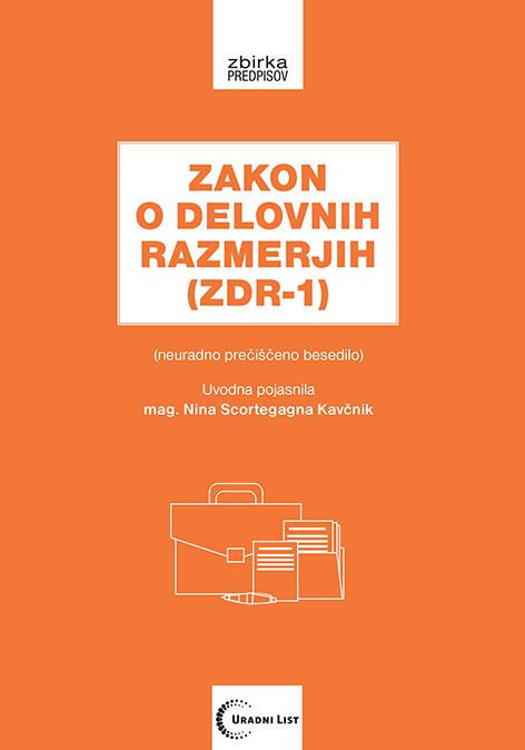 Zakon o delovnih razmerjih ZDR-1